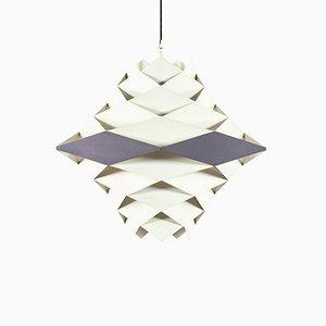 Lámpara de techo pequeña de Preben Dahl para Lyfa, años 60