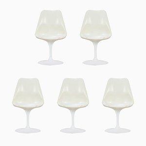 Schalenstühle von Eero Saarinen für Knoll International, 1970er, 5er Set