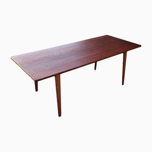 Vintage Teak and Oak Hunting Table by Borge Mogensen for Fredericia