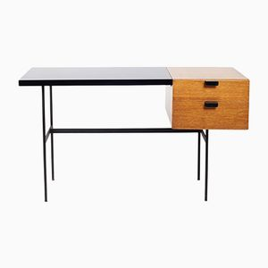 French CM 141 Desk by Pierre Paulin for Thonet, 1950s