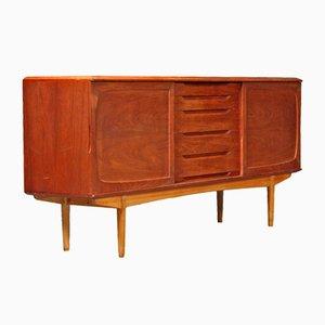 Danish Teak & Oak Sideboard, 1960s
