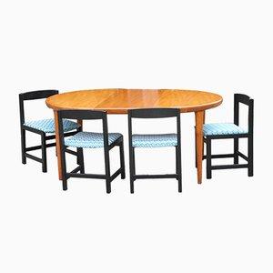 Ausziehbarer dänischer Tisch aus Teak von VV Møbler, 1960er
