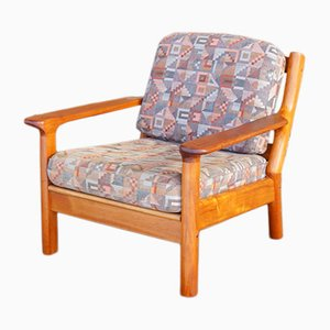 Vintage Danish Teak Lounge Chair, 1970s