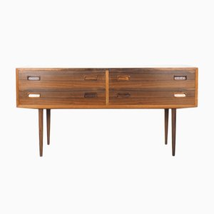 Rosewood Chest of Drawers on High Legs from Hundevad, 1960s