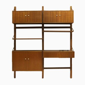 Mid-Century Danish Wall Unit, 1960s