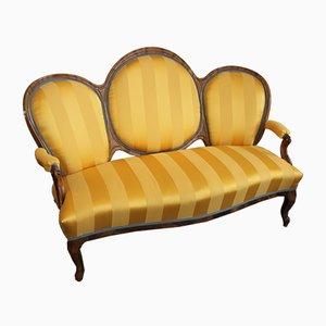 Antikes Biedermeier Sofa, 1860er
