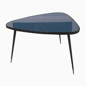 Vintage Formica & Iron Side Table