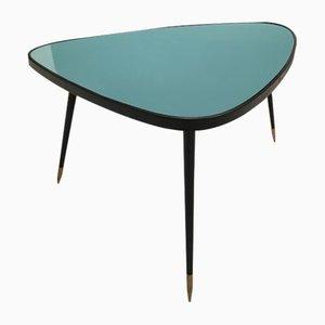 Table d'Appoint Vintage en Formica & en Fer Forgé