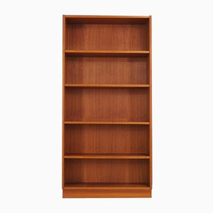 Danish Teak Bookcase, 1970s