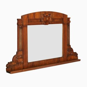 Neoclassical Wall or Fireplace Mirror, 1850s
