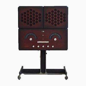 Impianto stereo RR126 vintage di Achille e Pier Castiglioni per Brionvega