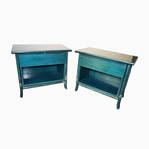 Vintage Nightstands by Telemaco for Gasparucci Italo, 1970s, Set of 2