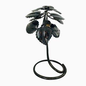 Vintage Lampe in Pflanzen-Optik