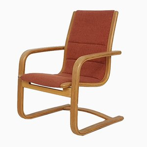 Vintage Bentwood Lounge Chair by Yngve Ekstrom for Swedese