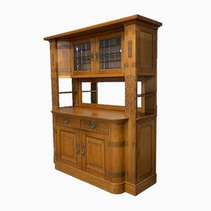 Art Deco Amsterdam School Wine Cabinet, 1930s