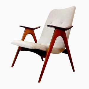 Vintage Dutch Armchair by Louis van Teeffelen for Webe