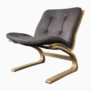 Vintage Kengu Easy Chair by Elsa & Nordahl Solheim for Rybo Rykken & Co, 1970s