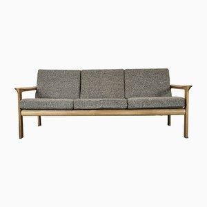 Dänische Vintage Sofa aus Eiche von Arne Wahl Iversen für Komfort