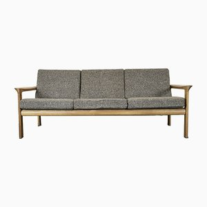 Vintage Danish Oak Sofa by Arne Wahl Iversen for Komfort