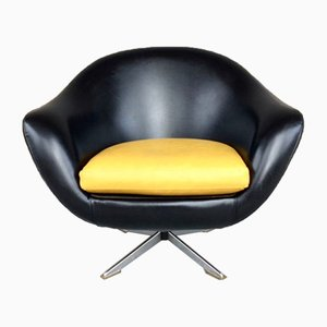 Mid-Century Swivel Lounge Chair, 1960s