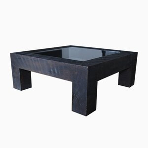 Coffee Table with João Murillo Painting, 2000s