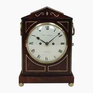 Regency Bracket Uhr aus Mahagoni von Thomas Connald, 1815