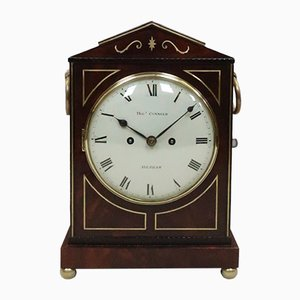 Regency Mahogany Bracket Clock from Thomas Connald, 1815