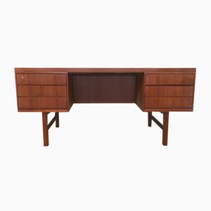 Model 76 Teak Desk from Omann Jun, 1960s