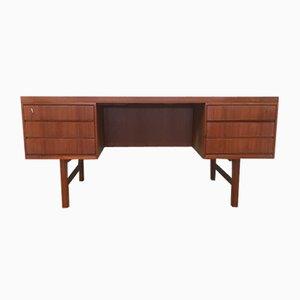 Modell 76 Schreibtisch aus Teak von Omann Jun, 1960er