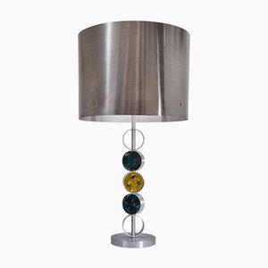 Lampada da tavolo in alluminio, acciaio e vetro di Nanny Still per Raak, 1972
