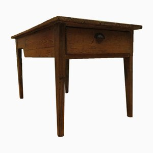Mesa de panadería rústica francesa antigua