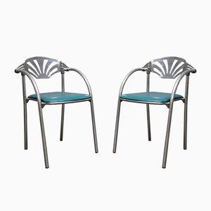 Italienische Alisea Stühle von Lisa Bross für Studio Simonetti, 1980er, 2er Set