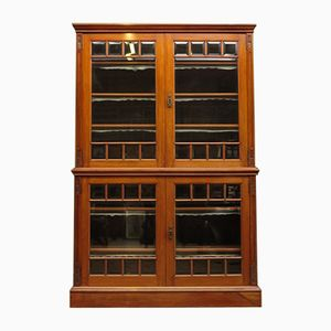 Antique Walnut Display Cabinet
