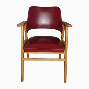 Red Skai Desk Chair, 1950s
