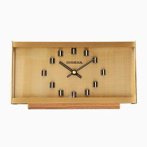 Orologio da tavolo vintage modernista di Dugena, anni '70