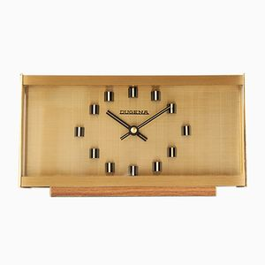 Vintage Modernist Table Clock from Dugena, 1970s