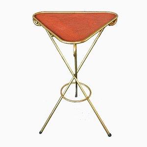 Brass Tripod Table, 1960s