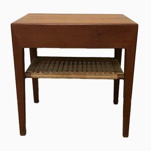 Table de Chevet par Severin Hansen pour Haslev Møbelsnedkeri, 1950s