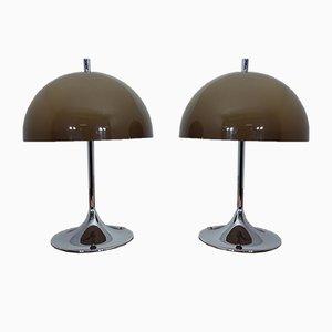 Lampade da tavolo, Italia, anni '70, set di 2