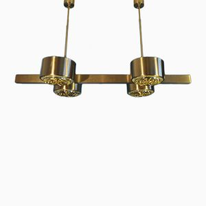 Mid-Century Model T261-4 Brass Chandelier by Hans Agne Jakobsson