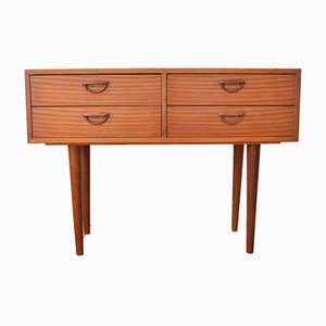 Teak Chest of Drawers by Kai Kristiansen for Feldballes Møbelfabrik, 1960s