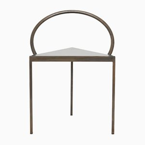 Triangolo Stuhl in Schwarz von Per Holland Bastrup für FRAMA