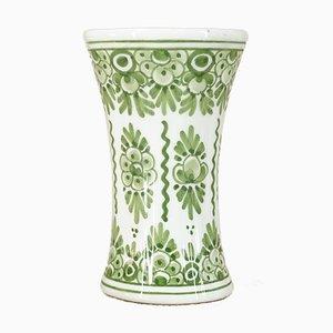 Handbemalte Delft Vase von De Candelaer, 1980er