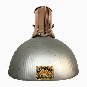 Vintage Copper Gecoray Wall Light from General Electric Company, 1925