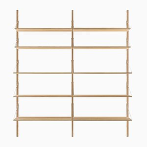H1852 Double Section Shelf by Kim Richardt for FRAMA