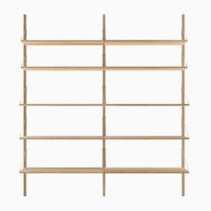 H1852 Double Section Shelf by Kim Richardt for FRAMA