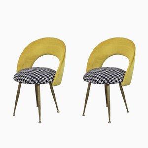 Chaises d'Appoint Vintage, France, 1950s, Set de 2