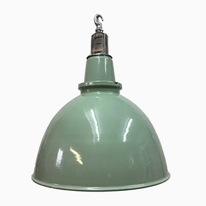 Large Factory Pendant Light from Thorlux, 1950s