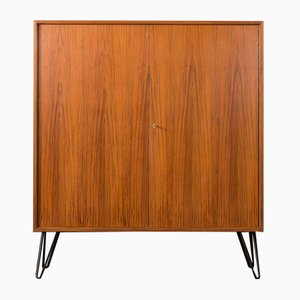 Walnut Veneered Cabinet, 1960s