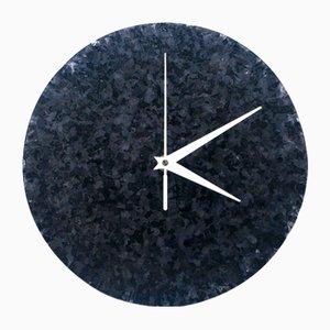 Poly-Marble Wall Clock from Niimaar
